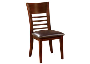 Hillsview I Brown Cherry Side Chair (Set of 2)