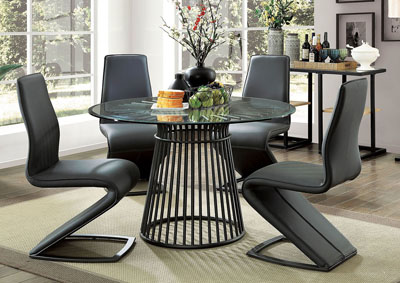 Dowdale Dining Table w/4 Side Chairs