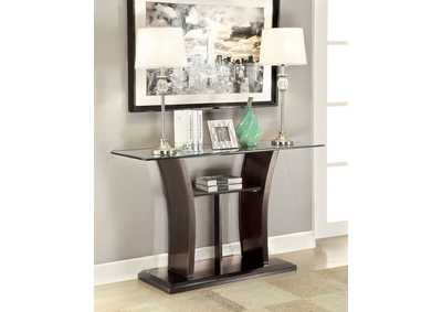 Image for Manhattan Gray Console Table w/Shelf
