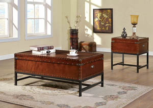 Milbank Cherry Coffee Table w/Storage