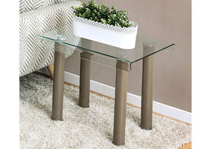 Walkerville II Champagne End Table