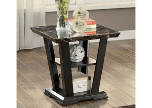 Clayton III Dark Cherry End Table