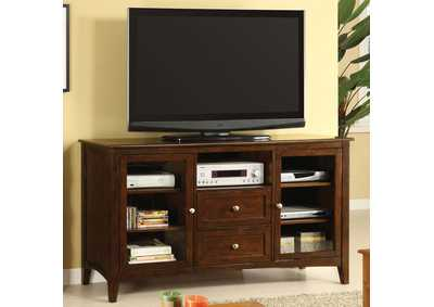 "Image for Lancaster 60"" Dark Walnut TV Console"