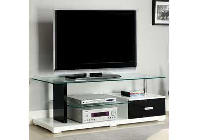 "Image for Egaleo 55"" Black & White TV Console"