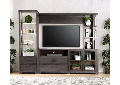 Image for Tienen Gray TV Stand Set