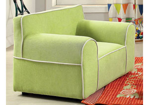 Gwen Green Kids Arm Chair