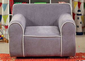 Gwen Gray Kids Arm Chair