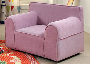 Gwen Purple Kids Arm Chair