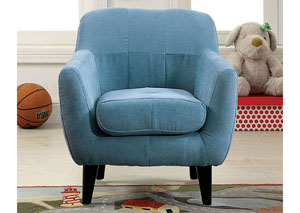 Heidi Blue Kids Arm Chair