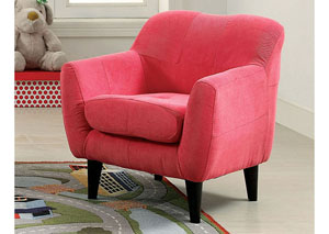 Heidi Pink Kids Arm Chair