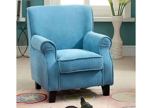 Greta Blue Kids Arm Chair
