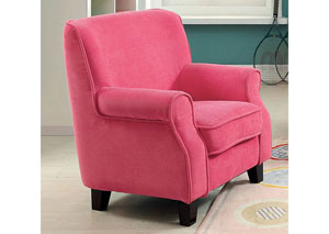 Greta Pink Kids Arm Chair