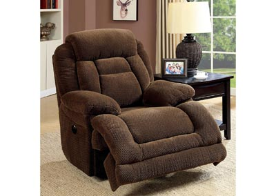 Grenville Brown Power-Assist Recliner