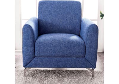 Lauritz Blue Chair