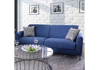 Lauritz Blue Sofa