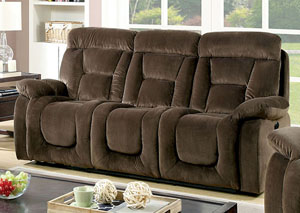Bloomington Brown Power-Assist Sofa