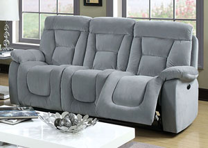 Bloomington Gray Power-Assist Sofa
