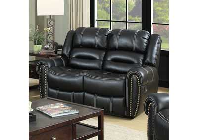 Frederick Black Loveseat