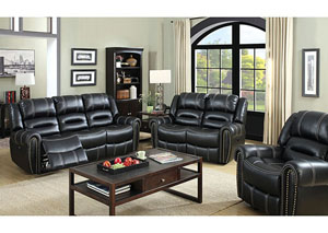 Image for Frederick Black Power-Assist Sofa