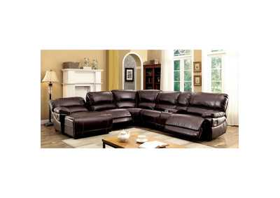 Estrella Brown Sectional