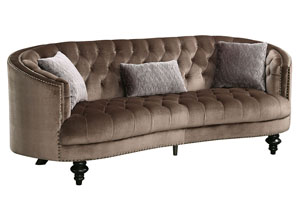 Manuela Brown Sofa