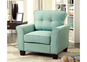 Claire Blue Single Chair