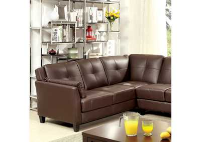 Peever Brown Sectional