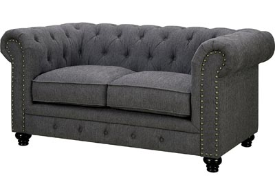 Stanford Gray Loveseat