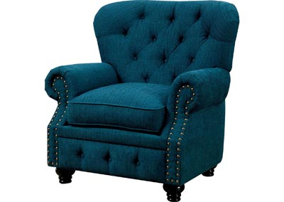 Stanford Dark Teal Single Chair