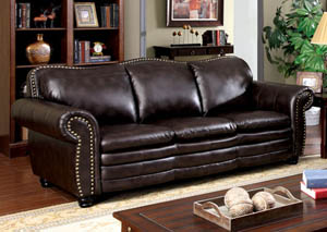Benedict Dark Brown Sofa