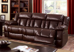 Wimbledon Brown Power-Assist Motion Sofa