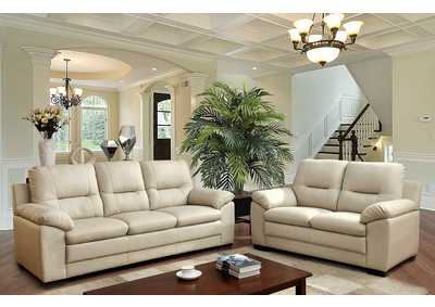 Image for Parma Ivory Sofa and Loveseat