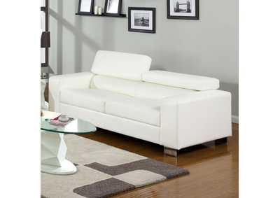 Image for Makri White Sofa