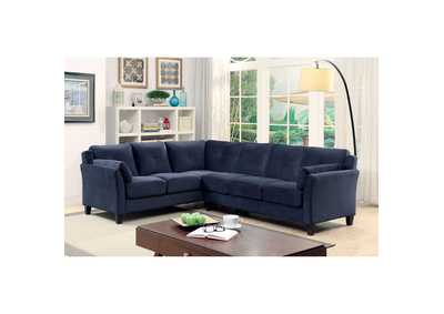 Peever II Navy Sectional