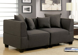 Marian Gray 2 Seat Sectional