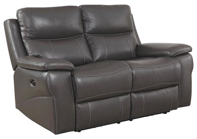 Lila Gray Power-Assist Loveseat