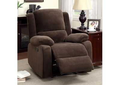 Haven Dark Brown Recliner
