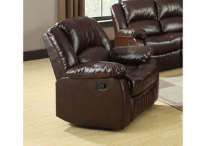 Winslow Dark Brown Recliner