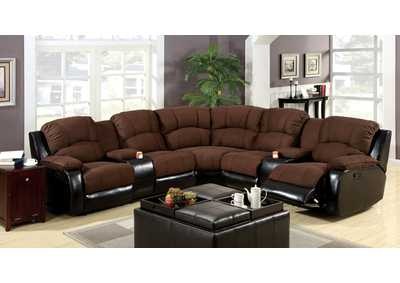 Image for Wolcott Brown Sectional
