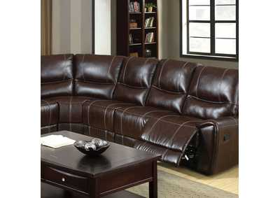Keystone Brown Sectional