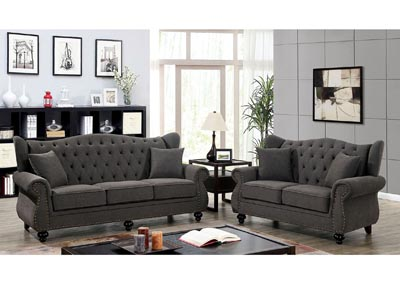Ewloe Grey Sofa & Loveseat