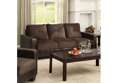 Laverne Chocolate Sofa