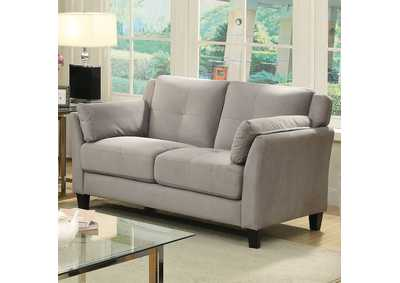 Ysabel Warm Gray Loveseat