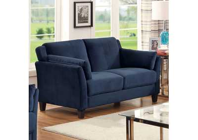 Ysabel Navy Loveseat