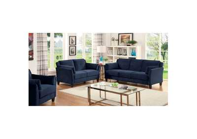 Image for Ysabel Navy Sofa and Loveseat