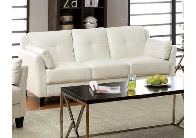 Pierre White Sofa