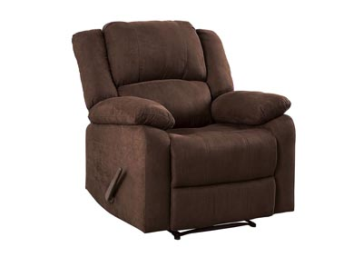 McLaughlin Brown Leatherette Recliner