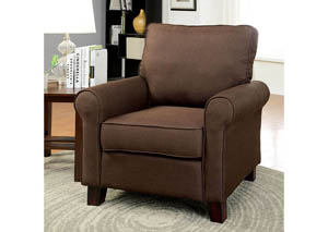 Hensel Brown Flax Fabric Chair Furniture Stores In Yakima Wa M43