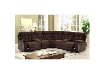 Maybell Brown Sectional