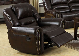 Image for Dundee Dark Brown Recliner